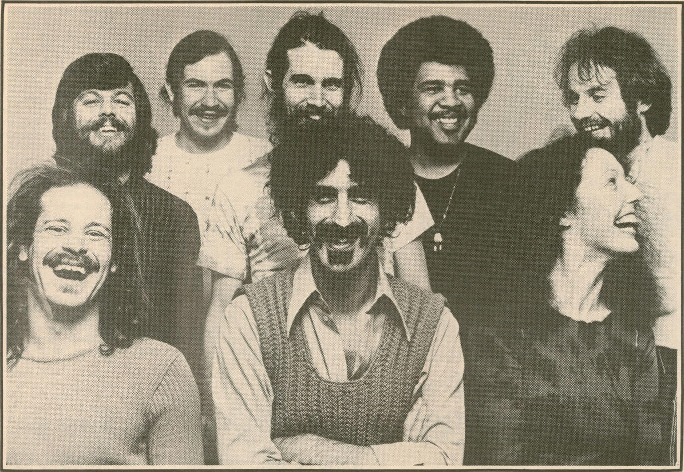 Image result for frank zappa mothers of invention band