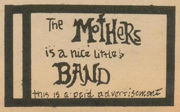 """... with his """"rockin' teen combo"""" The Mothers of Invention in 1965."""