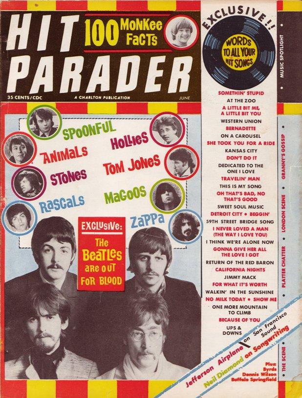 Hit Parader Magazine October 1977