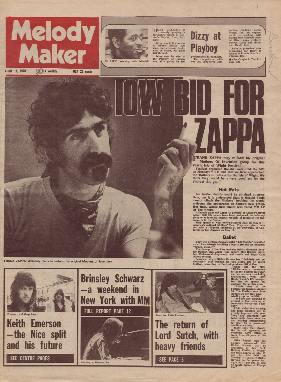 Frank Zappa Welcome To  Joes Garage Act 1