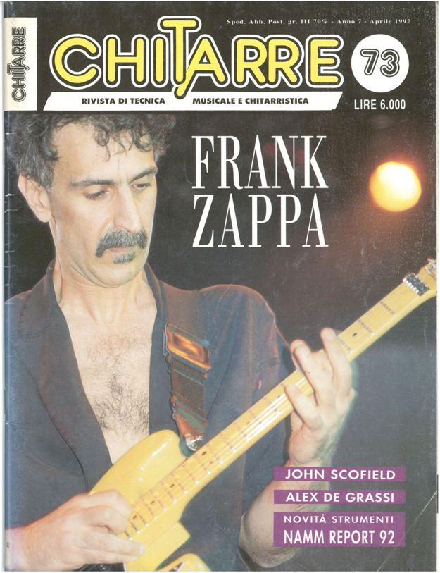 Chitarre for Chitarre magazine